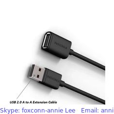 China Foxconn USB Extension Cable,USB to USB Female OTG Cable supplier