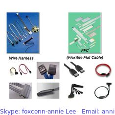 China Foxconn LCD Cable Assembly,  LCD cables WDMCWM6-DD002-DH  for Notebook supplier