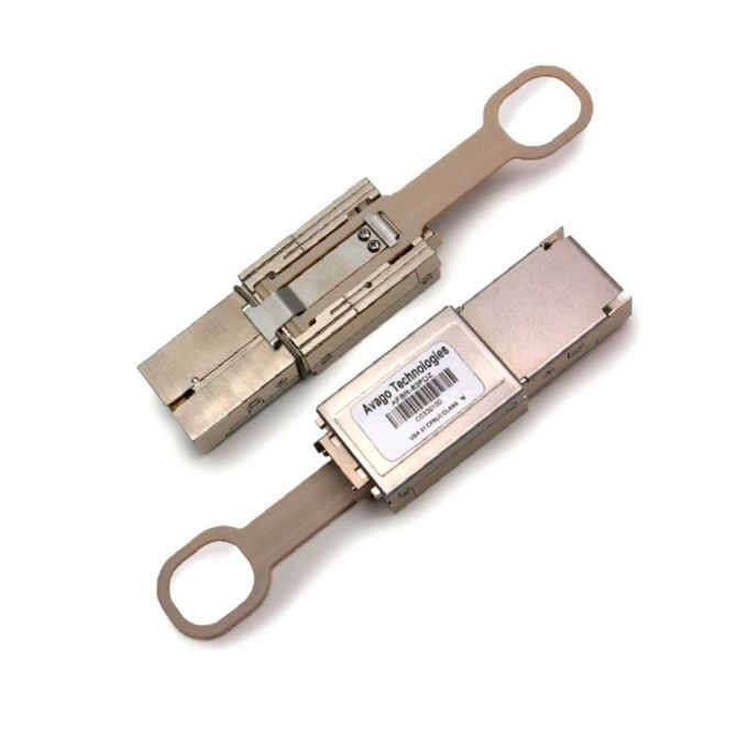 AVAGO AFBR-83PDZ, 12x10 GBd MMF CXP pluggable optical transceiver module for Ethernet and IB-QDR, 850nm, MTPR/MPO