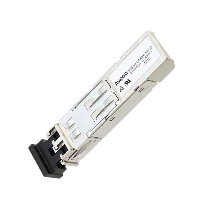 AVAGO AFBR-5710ALZ ,1.25 GBd MMF SFP optical transceivers for 1000BASE-SX Gigabit Ethernet, 850nm, LC connector